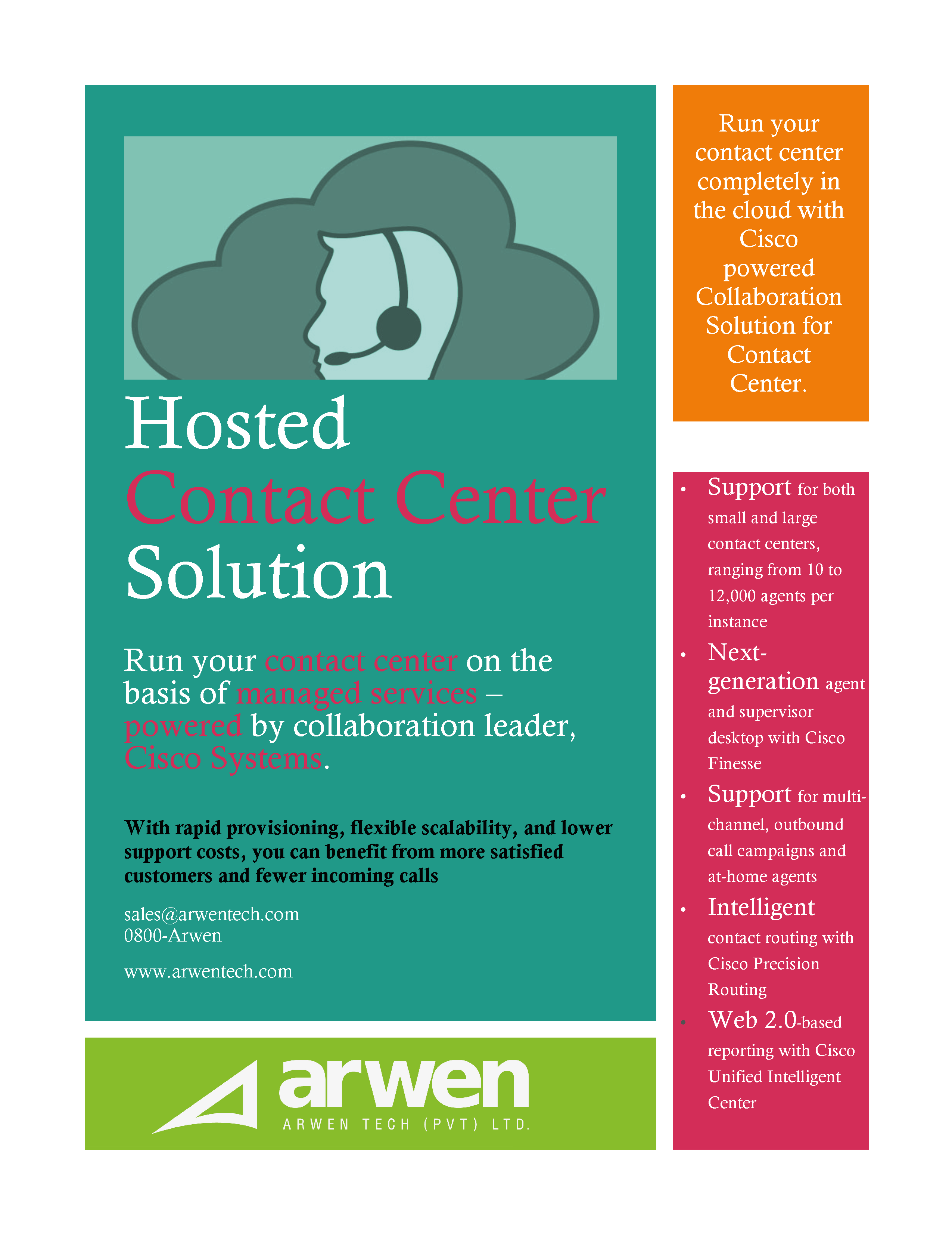 Hosted Contact Center Solution