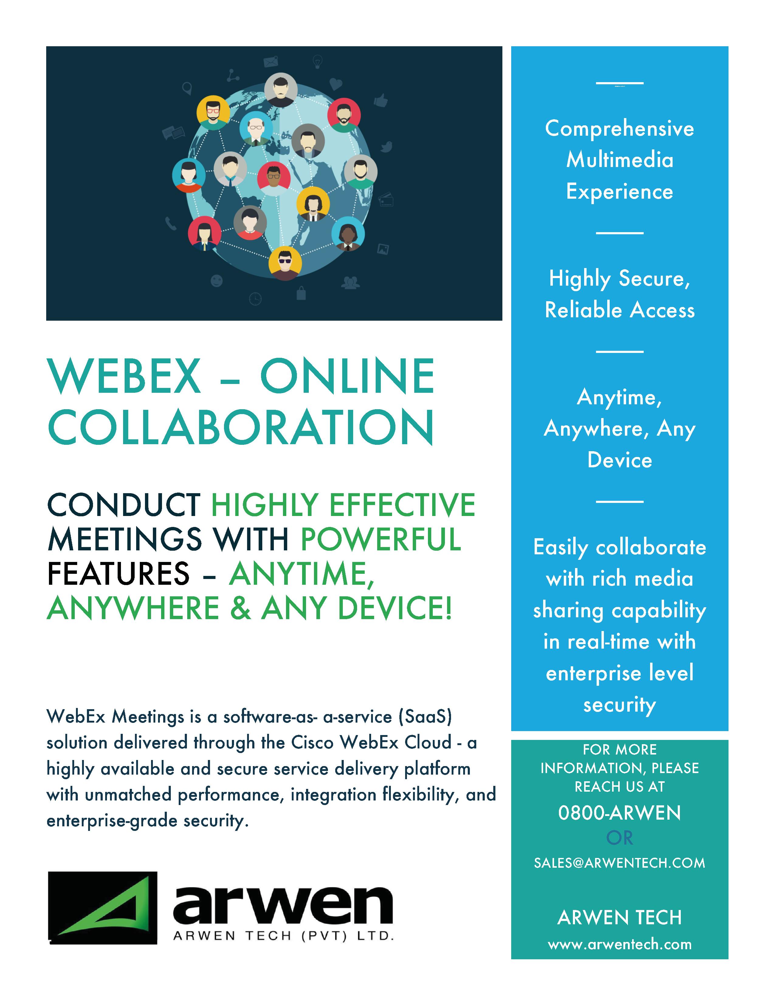 webex – online collaboration